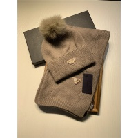 Prada Scarf & Hat Set #833805