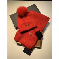 Prada Scarf & Hat Set #833806
