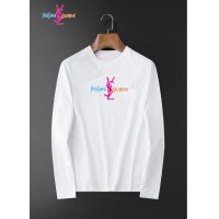 Cheap Yves Saint Laurent YSL T-shirts Long Sleeved For Men #834682 Replica Wholesale [$34.00 USD] [W#834682] on Replica Yves Saint Laurent YSL T-shirts