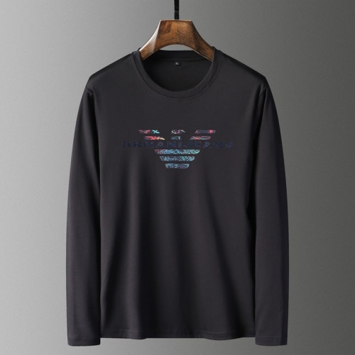 Cheap Armani T-Shirts Long Sleeved For Men #835644 Replica Wholesale [$41.00 USD] [W#835644] on Replica Armani T-Shirts