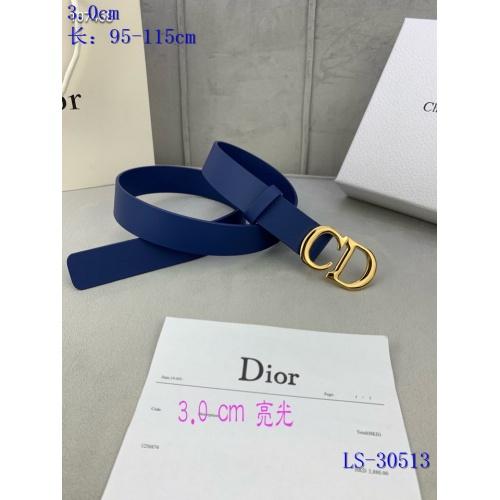 Cheap Christian Dior AAA Quality Belts #837675 Replica Wholesale [$52.00 USD] [W#837675] on Replica Christian Dior AAA Quality Belts