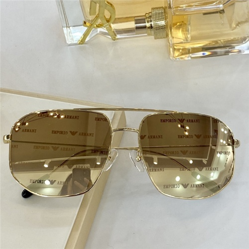 Cheap Armani AAA Quality Sunglasses For Men #840157 Replica Wholesale [$54.00 USD] [W#840157] on Replica Armani AAA+ Sunglasses