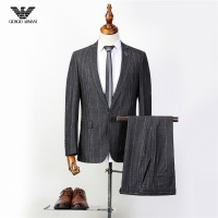 Armani Two-Piece Suits Long Sleeved For Men #837651