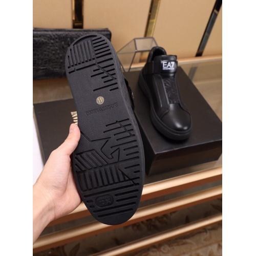 Cheap Armani Casual Shoes For Men #841866 Replica Wholesale [$88.00 USD] [W#841866] on Replica Armani Casual Shoes