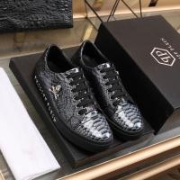 Philipp Plein PP Leather Shoes For Men #841859