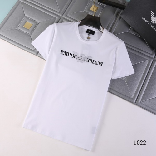 Cheap Armani T-Shirts Short Sleeved For Men #845706 Replica Wholesale [$29.00 USD] [W#845706] on Replica Armani T-Shirts