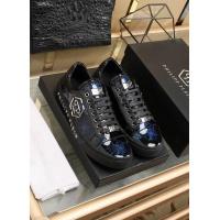 Philipp Plein PP Leather Shoes For Men #842473