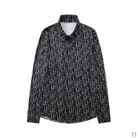 Christian Dior Shirts Long Sleeved For Men #846273