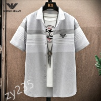 Armani Shirts Short Sleeved For Men #849782