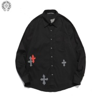 Chrome Hearts Shirts Long Sleeved For Men #850033