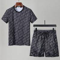 Christian Dior Tracksuits Short Sleeved For Men #850043