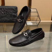 Ferragamo Leather Shoes For Men #850801