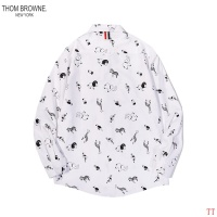 Thom Browne TB Shirts Long Sleeved For Men #853002