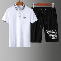 Armani Tracksuits Short Sleeved For Men #853786