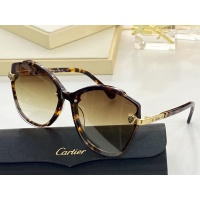 Cartier AAA Quality Sunglasses #854385