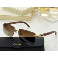 Cartier AAA Quality Sunglasses #854420
