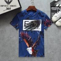 Armani T-Shirts Short Sleeved For Men #854794