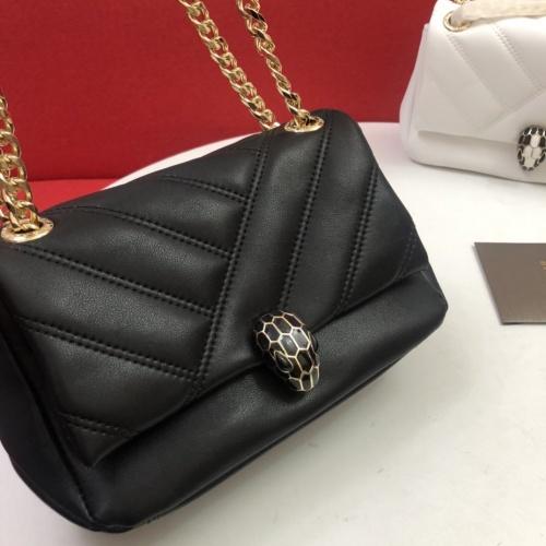 Cheap Bvlgari AAA Messenger Bags For Women #857041 Replica Wholesale [$112.00 USD] [W#857041] on Replica Bvlgari AAA Messenger Bags