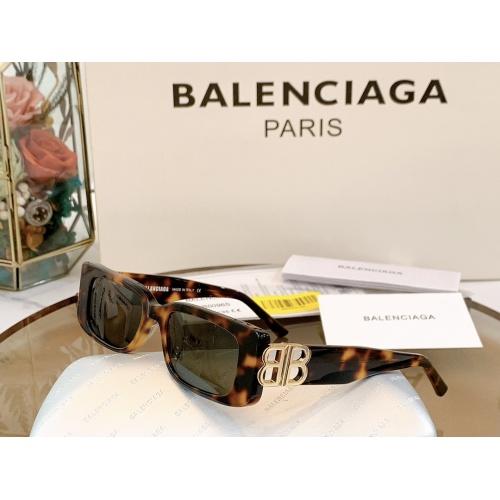 Balenciaga AAA Quality Sunglasses #863157