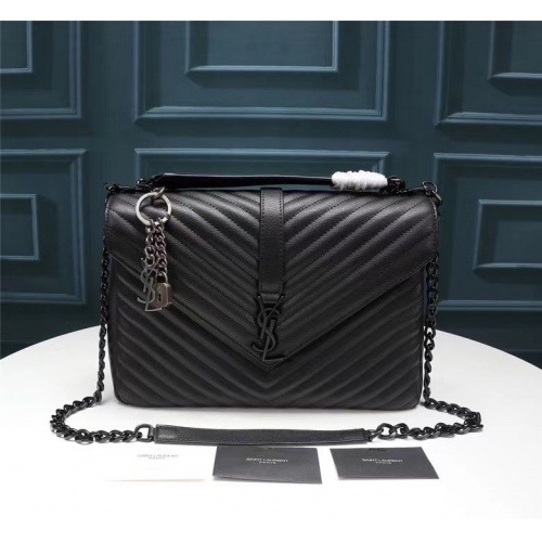 Cheap Yves Saint Laurent YSL AAA Messenger Bags For Women #864043 Replica Wholesale [$115.00 USD] [W#864043] on Replica Yves Saint Laurent YSL AAA Messenger Bags