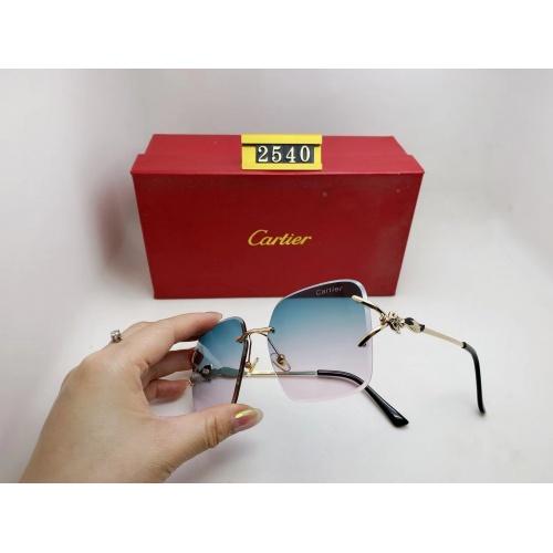Cartier Fashion Sunglasses #865011