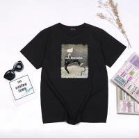 Balenciaga T-Shirts Short Sleeved For Men #855758