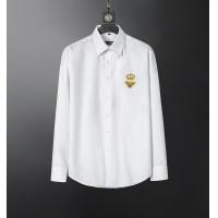 Dolce & Gabbana D&G Shirts Long Sleeved For Men #856687