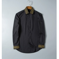 Versace Shirts Long Sleeved For Men #856698