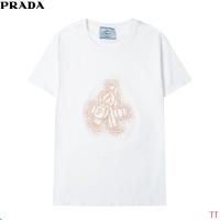 Prada T-Shirts Short Sleeved For Men #858605