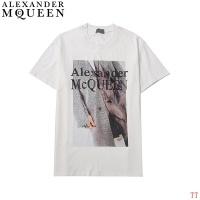 Alexander McQueen T-shirts Short Sleeved For Men #858638