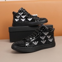 Armani High Tops Shoes For Men #859588