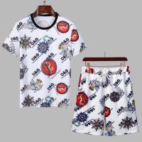 Dolce & Gabbana D&G Tracksuits Short Sleeved For Men #860796