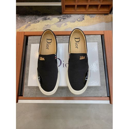 Cheap Christian Dior Casual Shoes For Men #871153 Replica Wholesale [$68.00 USD] [W#871153] on Replica Christian Dior Casual Shoes