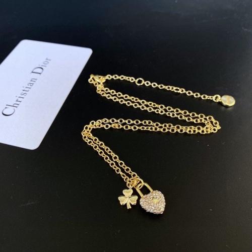 Cheap Christian Dior Necklace #874141 Replica Wholesale [$32.00 USD] [W#874141] on Replica Christian Dior Necklace
