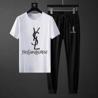 Yves Saint Laurent YSL Tracksuits Short Sleeved For Men #871107