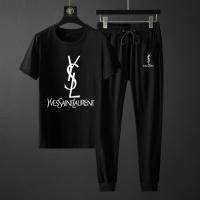 Yves Saint Laurent YSL Tracksuits Short Sleeved For Men #871109