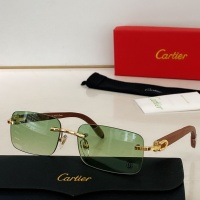 Cartier AAA Quality Sunglasses #871330