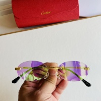 Cartier AAA Quality Sunglasses #873515