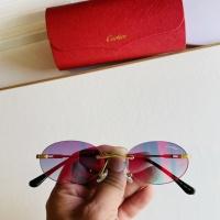 Cartier AAA Quality Sunglasses #873516