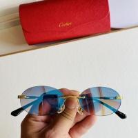 Cartier AAA Quality Sunglasses #873518