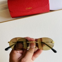Cartier AAA Quality Sunglasses #873519