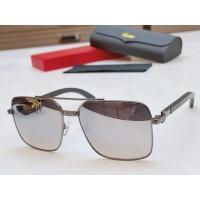 Cartier AAA Quality Sunglasses #873844