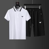 Armani Tracksuits Short Sleeved For Men #874143
