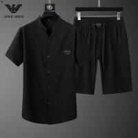 Armani Tracksuits Short Sleeved For Men #878018