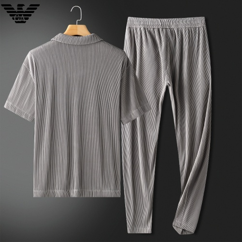Cheap Armani Tracksuits Short Sleeved For Men #879769 Replica Wholesale [$88.00 USD] [W#879769] on Replica Armani Tracksuits