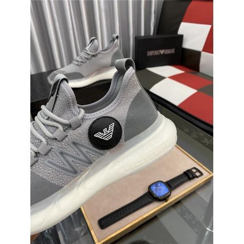 Cheap Armani Casual Shoes For Men #881335 Replica Wholesale [$76.00 USD] [W#881335] on Replica Armani Casual Shoes