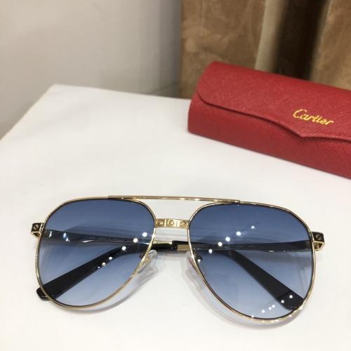 Cartier AAA Quality Sunglasses #882213