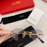 Cartier AAA Quality Sunglasses #879811
