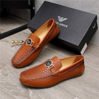 Armani Leather Shoes For Men #880792