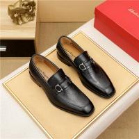 Ferragamo Salvatore FS Leather Shoes For Men #882587